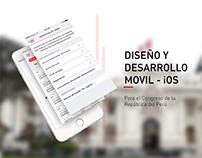 Congreso de la República Aplicación Android y iOS