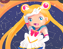 ILUSTRACIÓN | Sailor Moon Tribute
