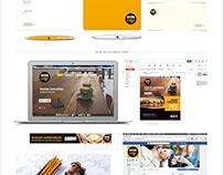 Diseño de marca y desarrollo de sistema de identidad