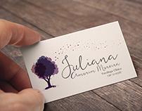 Identidade Visual Psicóloga Juliana Amorim Moreira