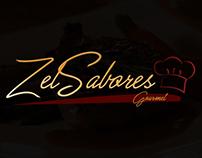 Logotipo Zel Sabores Gourmet