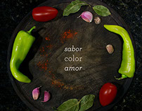 Sabor, color, amor.