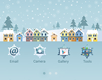 Winter Galaxy Theme