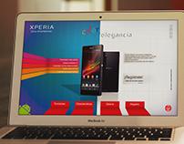 XPERIA - Web Promocional