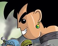 Dragon Ball Super Póster Pop