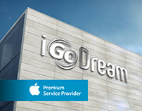 iGoDream - Apple Store - Naming / Logo
