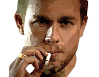 Low Poly - Charlie Hunnam / Jex Teller