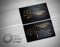 Cartão de Visitas - Dr. Rogério Rodrigues