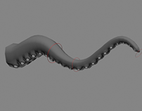 Game Asset Rigging: Tentacles!