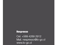Tarjetas de visita para Lo-Go, gerencia y otros cargos