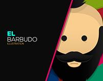 El Barbudo (Character Illustration)