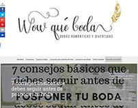 Proyecto pagina Web wowquebodas