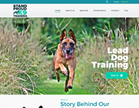 Stand Proud K9 - Logo and Website Design