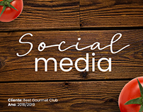 SOCIAL MEDIA POSTS - BEST GOURMET CLUB