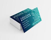 Cartão de Visita - Letícia Gomes