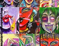 Colección de retratos de monstruos y no tan monstruos