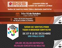 Caiçara Gamers - Artes Caravana BGS e CCXP