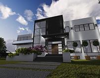 Diseño de vivienda aislada en Ontario, Canadá.