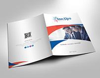 Folder para a empresa Inn-Ups