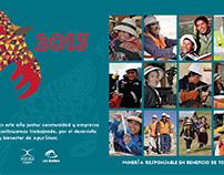 Calendario Rotafolio - Escritorio - Las Bambas