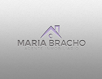 Diseño Logo Agente Inmobiliario María Bracho
