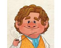 Bilbo Baggins - Fanart Character Design