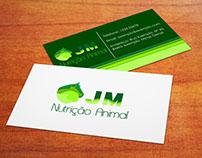 Cartão de Visitas, JM Nutrição Animal