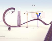 City Typography Concept.