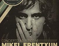 Poster REcital Mikel Erentxun