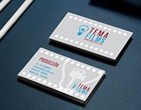 BRANDING - diseño web identidad - tema films