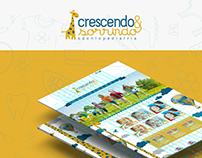 Site - Crescendo & Sorrindo