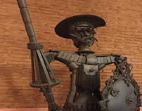 Don Quijote en Bar Tesende