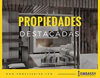 Post para Facebook. Inmobiliaria Embassy