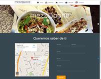 Sitio Web Mezzopane - Restaurant Italiano