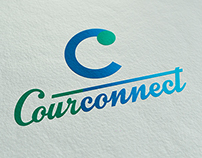 Courconnect, Logo Design