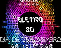 Banners Da festa Eletro 80