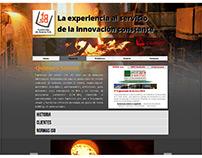 """Rediseño de Web """"Fasa/Cadafe"""" 2012"""
