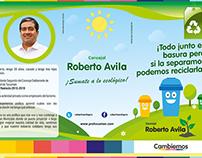 """Campaña """"Separá la basura"""" - Cambiemos, Tucumán"""