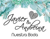Andreina y Javier Boda