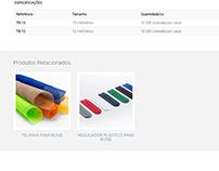 Mecanismo p/ seleção customizada de prod. relacionados