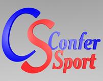 Logo 3D Confer Sport