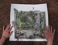 Ilustración y diseño Un jardín propio
