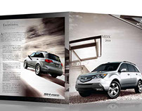 Brochure autos Acura
