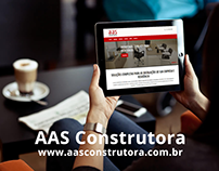AAS Construtora - SITE
