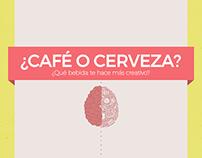 Infografía: Café o Cerveza