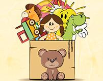 Cartaz - Doação de Brinquedos