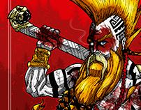 Olaf - RPG Barbarian