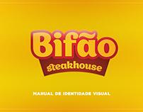 Manual da Identidade Visual: Bifão Steakhouse
