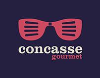 Identidad visual y estrategia para Concasse Gourmet