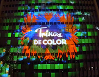 Christmas Projection Mapping, Cali - Colombia